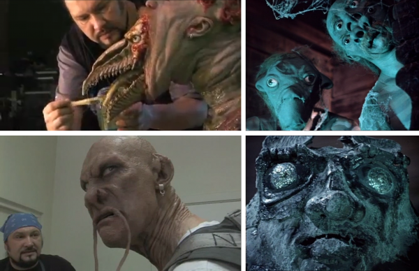 The new Viy undoubtedly benefited from the achievements made in prosthetic make-up over the years. On the left: production stills of Viy 3D, on the right: stills from Viy (1967)