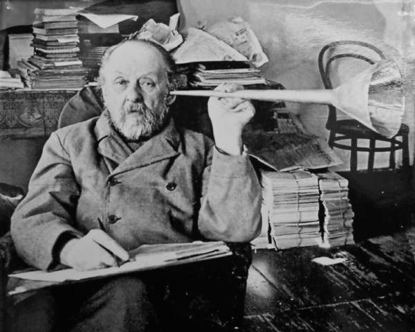 "Russian ""mad scientist"", Konstantin Tsiolkovsky"