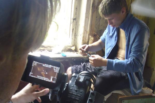 Filming Kolya