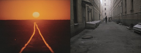 Graphic match: The opening sequence of The Needle features clever intercuts between the shots of the setting sun and Tsoi walking towards the camera, accompanied by Kino's famous song 'A Star Called The Sun'.